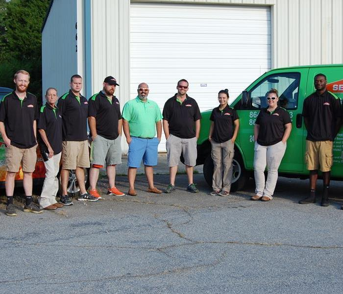 SERVPRO of South Greenville County Is Ready For Your Disaster